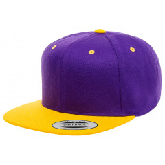 Кепка FlexFit 6089MT - Classic Snapback Purple/Gold