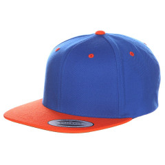 Кепка FlexFit 6089MT - Classic Snapback Royal/Orange