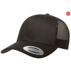 Кепка FlexFit Retro Trucker Black