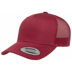 Кепка FlexFit 6606 Retro Trucker - Cranberry