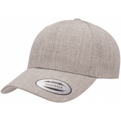 Кепка FlexFit 6789M - Curved Visor Snapback Heather Grey