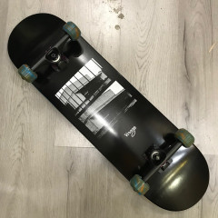 Скейтборд Virage skateboards BKZ black 8.5""